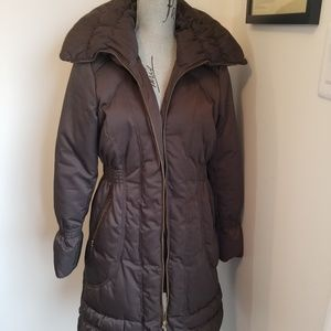 Chocolate color size small  winter jacket